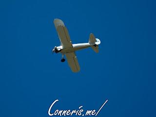 N3256A 1943 BOEING A75N1%2528PT17%2529 Flyby 4