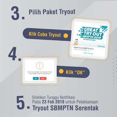 Paket Great Try Out 2019