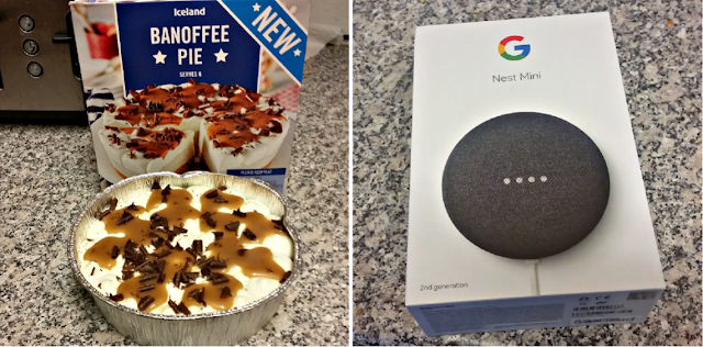 Banoffe Pie and a Google nest
