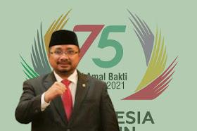 Sambutan Menteri Agama Upacara HAB Kemenag Ke-75 Tahun 2021