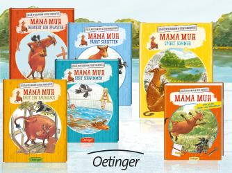 Mama Muh und die Küstenkinder spielen Sommer: Kinderbuch-Rezension und unsere Top 5 Ideen, um den Sommer ins Haus zu holen. Die Mama-Muh-Serie gibt es auch in Midi-Büchern.