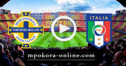 نتيجة مباراة إيطاليا وأيرلندا كورة اون لاين 25-03-2021 تصفيات كأس العالم