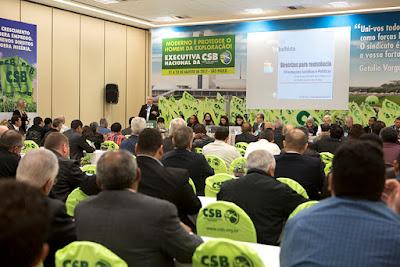 Executiva da CSB aprova diretrizes para o enfretamento da reforma trabalhista