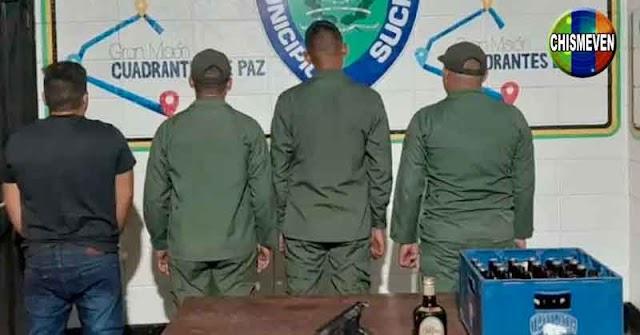 Tres sargentos de la GNB detenidos por manejar ebrios y disparar en Palo Verde