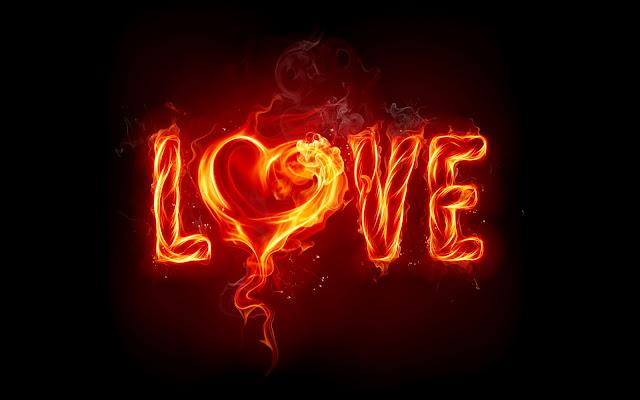 Vuurletters love