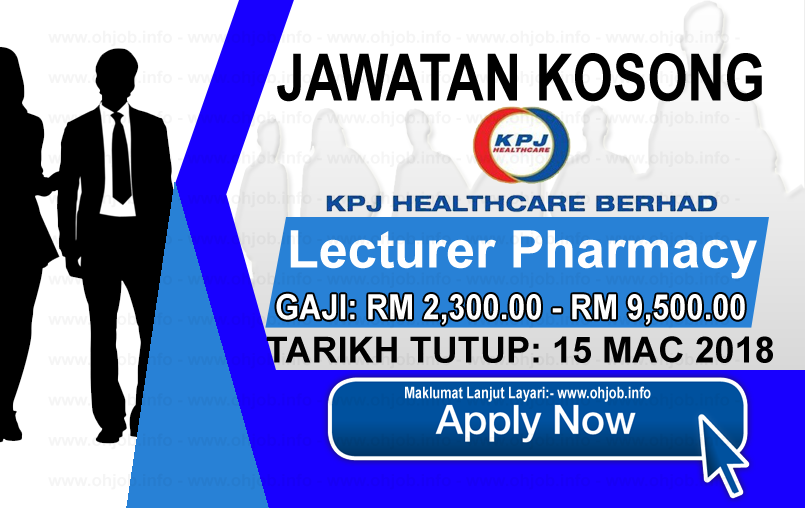 Jawatan Kerja Kosong KPJ Healthcare Berhad logo www.ohjob.info mac 2018