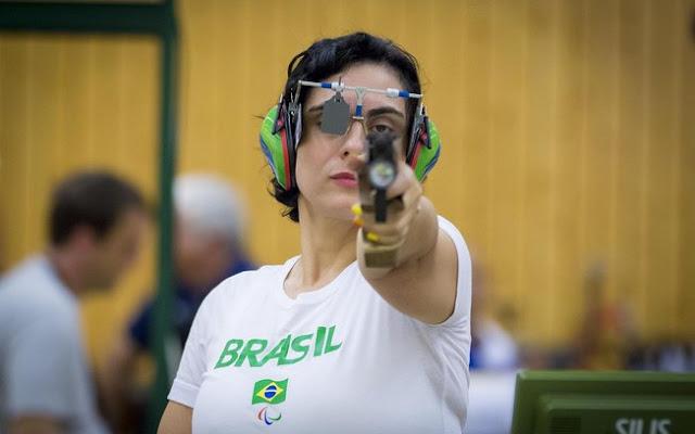proteção no tiro esportivo