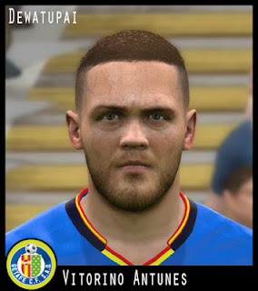 PES 2017 Faces Vitorino Antunes by Dewatupai