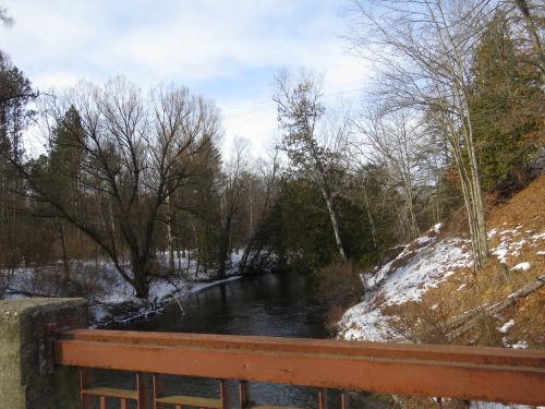 Pere Marquette River from Upper Branch Bridge