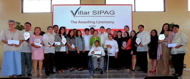 Villar SIPAG Awards On Poverty Reduction 2013 Winners