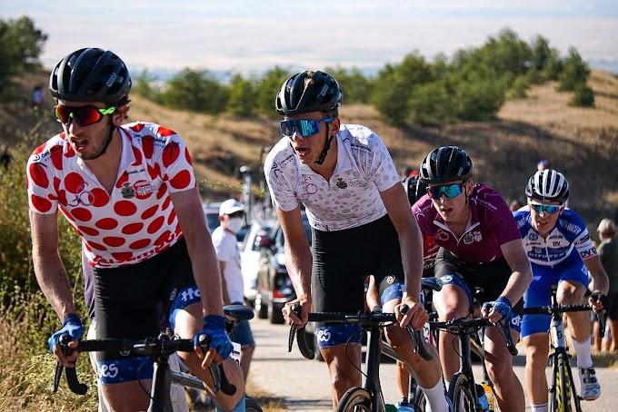 Luca Scuriatti ganó en Peñafiel y afianza el maillot de líder en la Vuelta a la Ribera del Duero