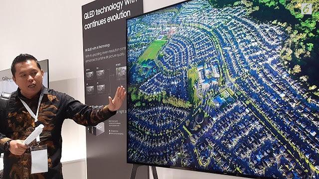 Menanti Kecanggihan TV QLED Teranyar Samsung di New York