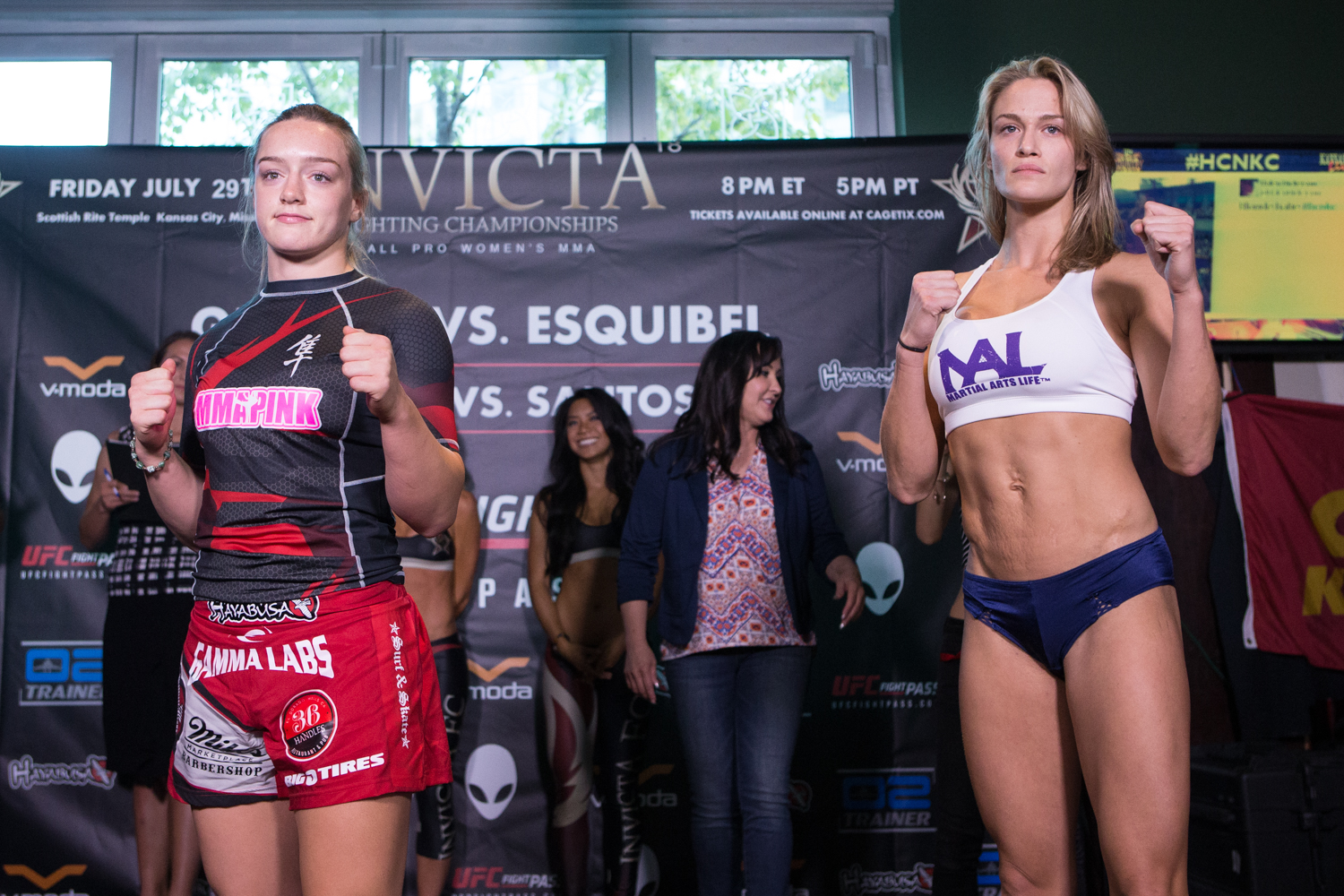 Invicta Fc 18 Weigh In Results And Pictures Punch 2 The Face