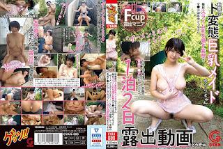 GYAN-009 Yuri Fukada Japanese Busty Maid