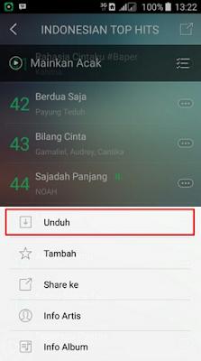 Cara Menyimpan Lagu Joox Menjadi MP3 di Android