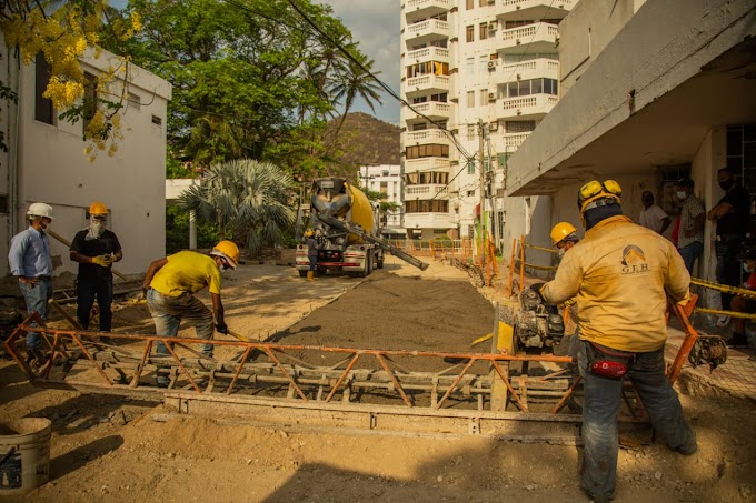 EDUS avanza en la primera fase del proyecto para la recuperación del Camellón de El Rodadero