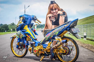 Modifikasi Jupiter Z Thaillook