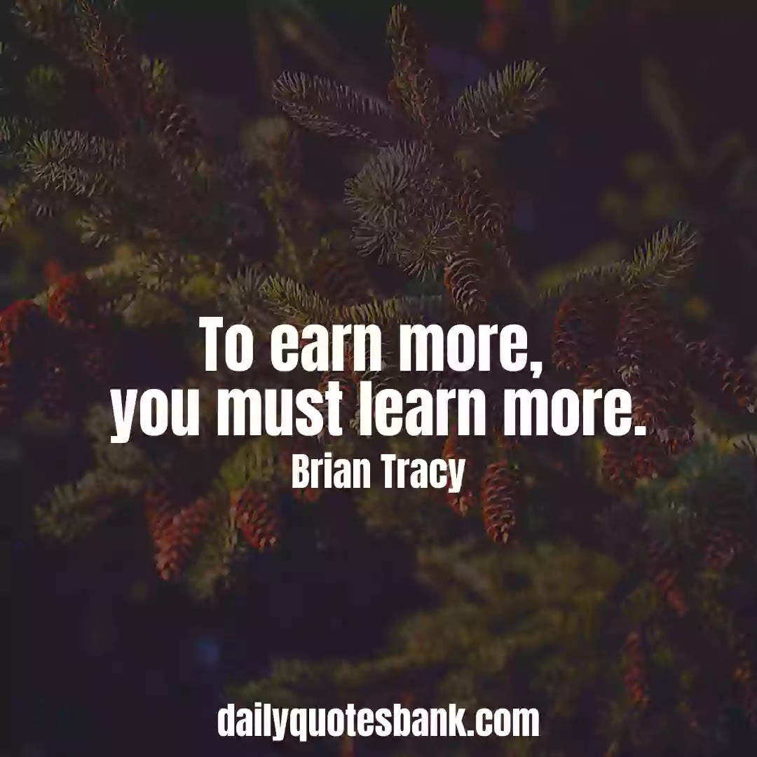 Brian Tracy Quotes That Will Help You To Self Development
