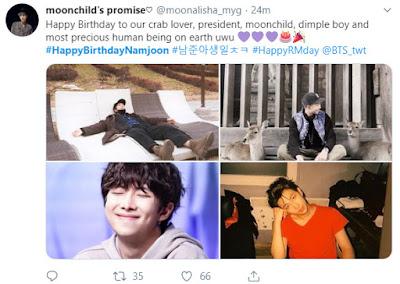 ulang tahun namjoon atau kim nam joon