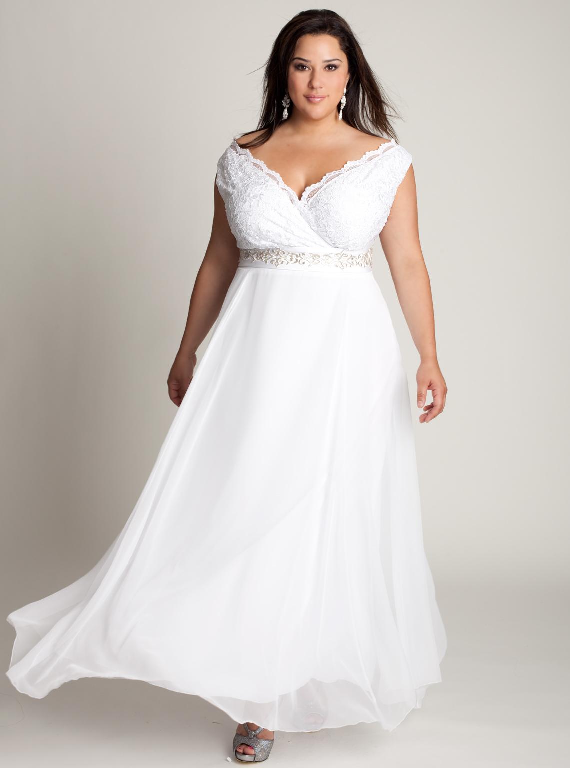 Cheap Wedding Dresses Plus Size