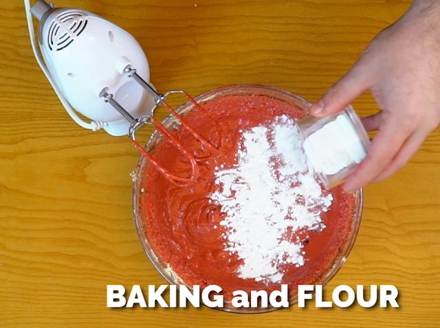 add baking powder to muffin batter