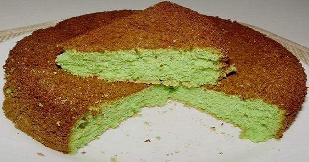 Buko Pandan Chiffon Cake Recipe