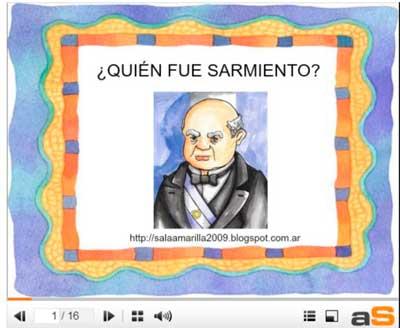 Mi Sala Amarilla: La historia de Sarmiento contada a los niños