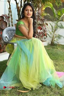 Actress Nikitha Bisht Stills in Lehenga Choli at Pochampally Ikat Art Mela Launch  0356.JPG