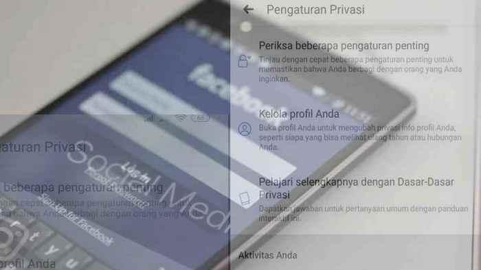 Sembunyikan nomor hp dari profil facebook
