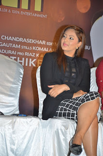 Actress Nikesha Patel Pictures at 7 Naatkal Press Meet  0014.jpg