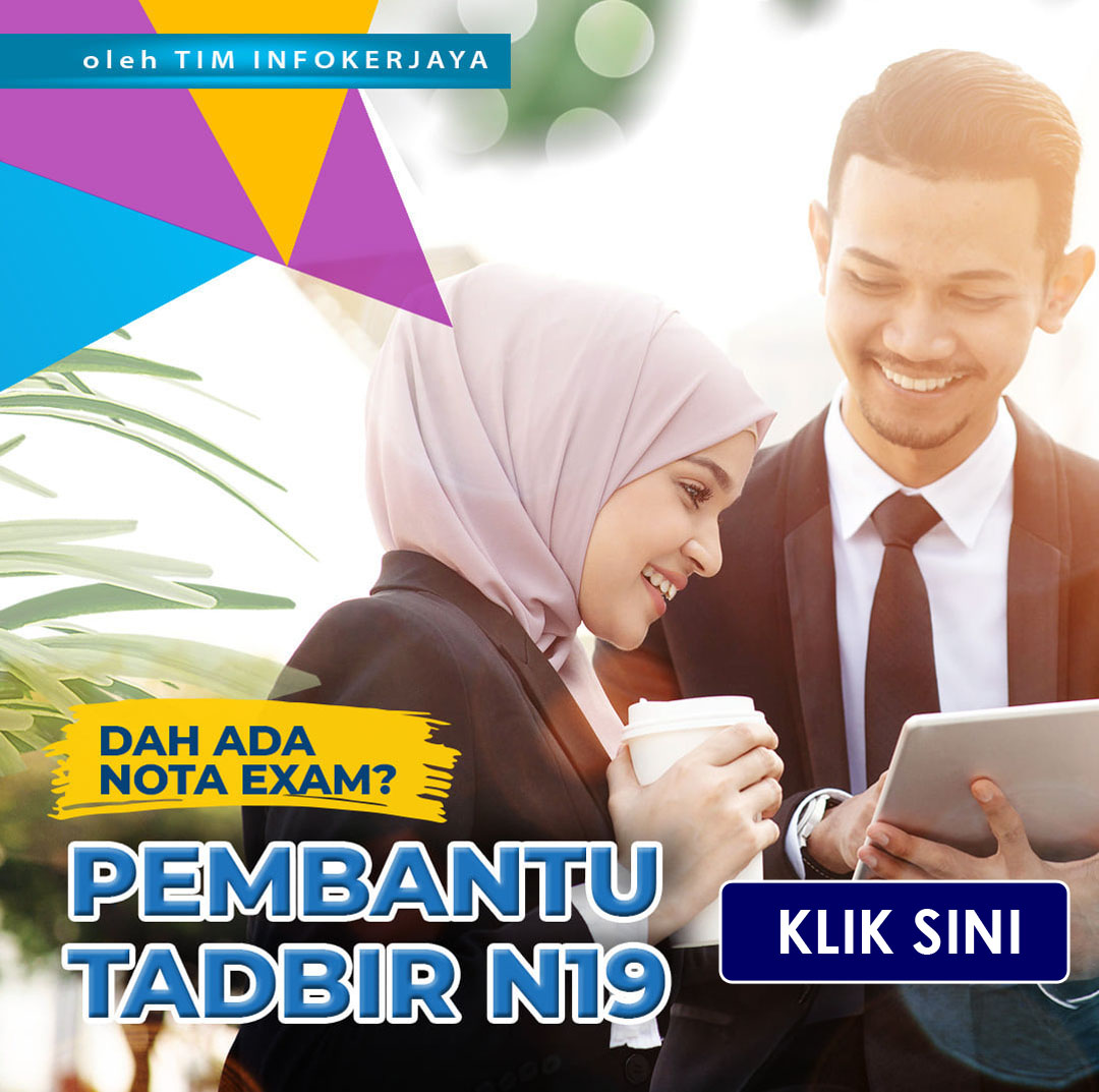 Nota Exam PSEE Pembantu Tadbir N19