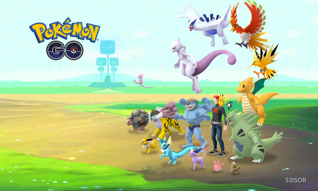 Free Pokemon GO account with high level 2021
