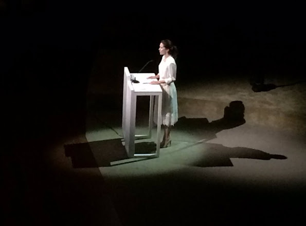 Princess Mary at the opening of Copenhagen Fashion Summit 2016