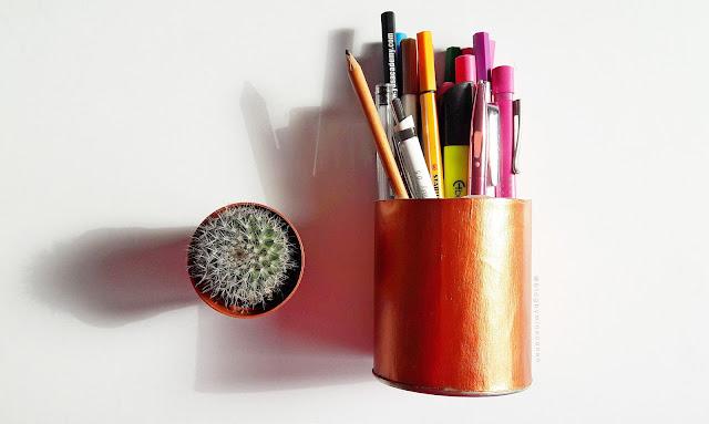 DIY: Çalışma Masası İçin Dekor Boyama