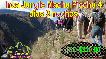 Inca Jungle Machu Picchu