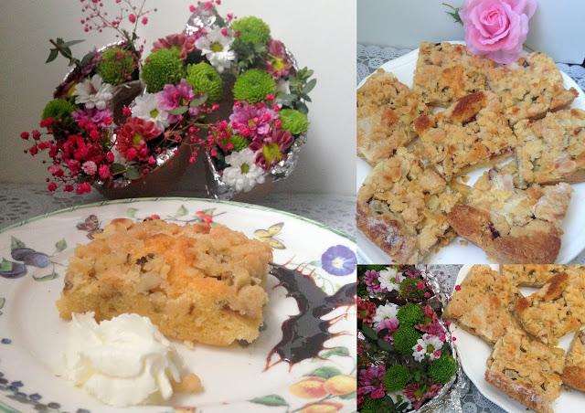 Rezept Zimt Rhabarberkuchen
