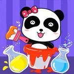 لعبة خلط الالوان مع الباندا