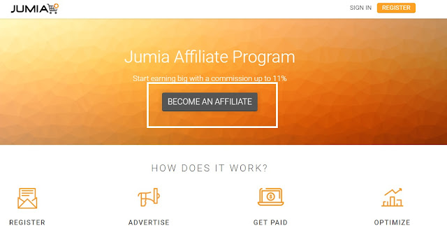 Revue d'affiliation Jumia