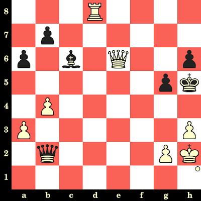Les Blancs jouent et matent en 4 coups - Kateryna Lahno vs Maarten Etmans, Wijk aan Zee, 2004