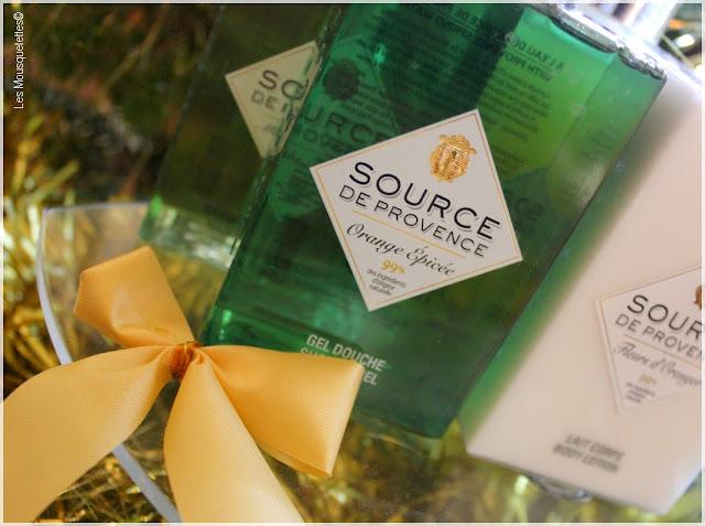 Idées cadeaux beauté pour Noël - Source de Provence - Les Mousquetettes©