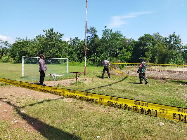 Akibat Kerumunan, Polsek Padamara Tutup Lapak Lomba Merpati di Desa Sokawera