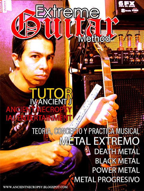 ANCIENT NECROPSY TABLATURES RIFFS MASTER CLASS curso de musica guitarra