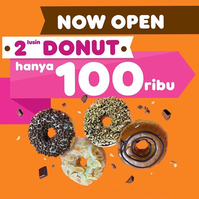 #DunkinDonuts - #Promo Opening Beli 2 Lusin Donut Hanya 100K (s.d 31 Juni 2019)