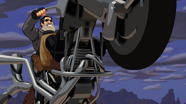Screenshot from Full Throttle Remastered