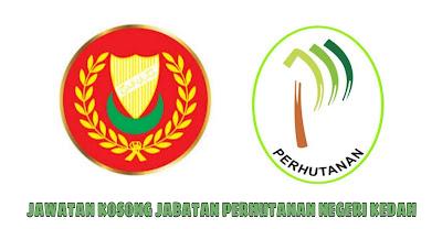 Jawatan Kosong Jabatan Perhutanan Negeri Kedah 2019