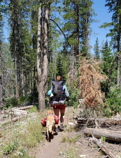 Backpacking to Abes Lake, Uintas