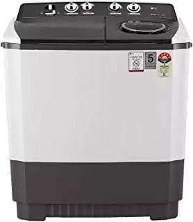 LG 10 kg 5 Star Semi-Automatic Top Loading Washing Machine (P1045SGAZ, Grey)