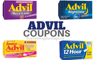 Advil Coupons- Pay the Lowest Price Possible