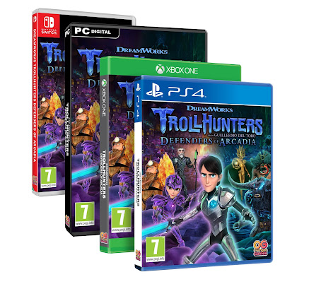 Trollhunters: Defenders of Arcadia Game pack shot in all available formats
