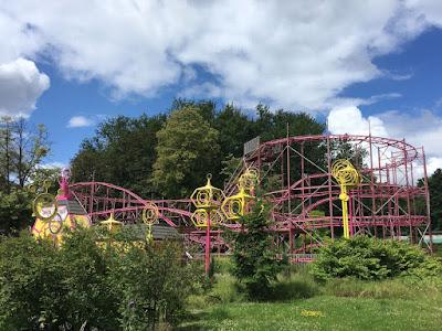 Legendia rollercoaster Dragon Temple w Chorzowie
